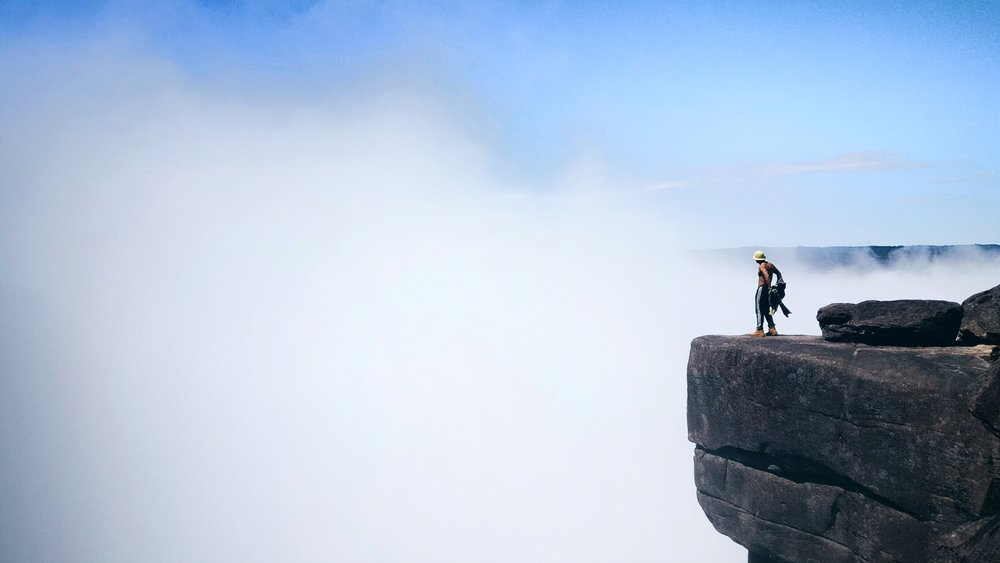 Push me to the edge in venezuela by a social media photographer