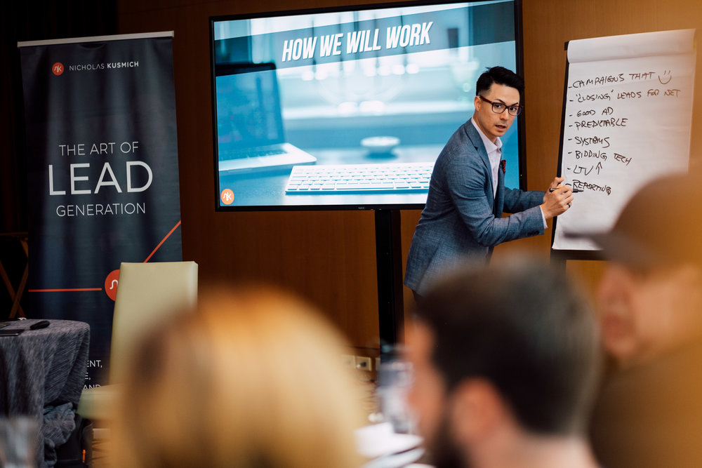 Event Photography Toronto Nick kusmich art of lead generation