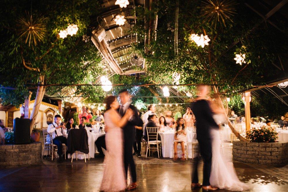 Wedding Photography Toronto of parents dance at Madsens Greenhouse