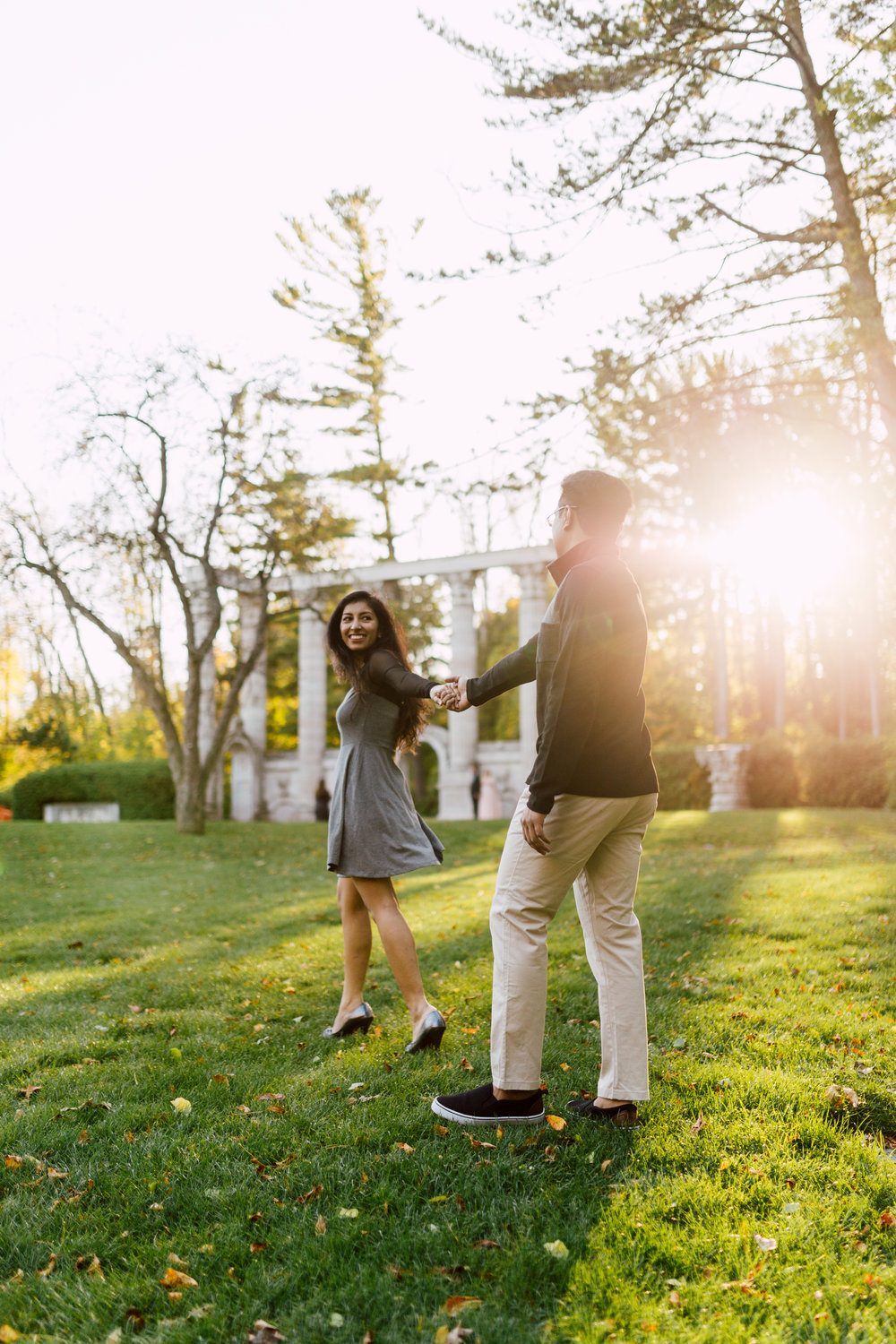 Couple at the guild engagement photography in toronto