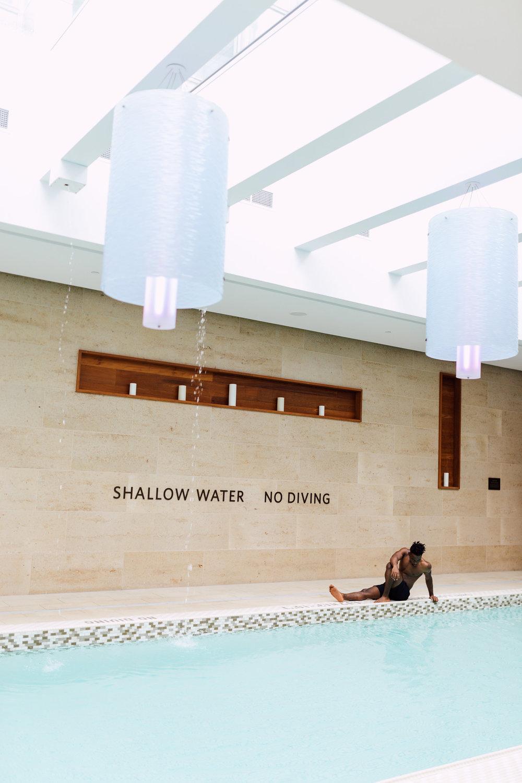 Nyo Mudzingwa Shangri la pool