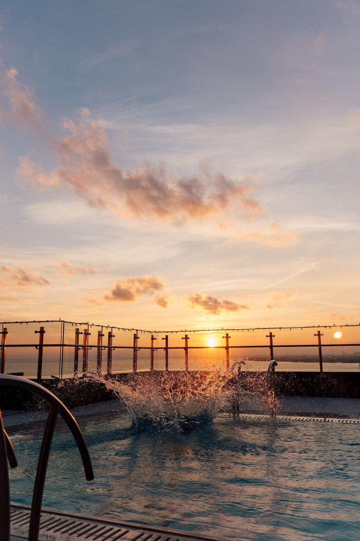 Splish Splash Winter Dips at Hotel X in toronto