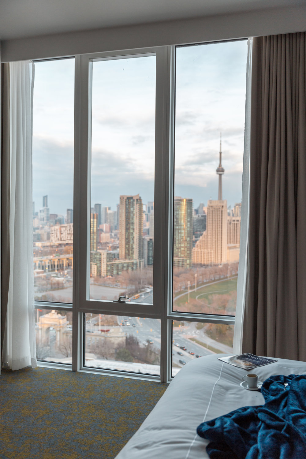 Hotel X in Toronto Luxury Suite View