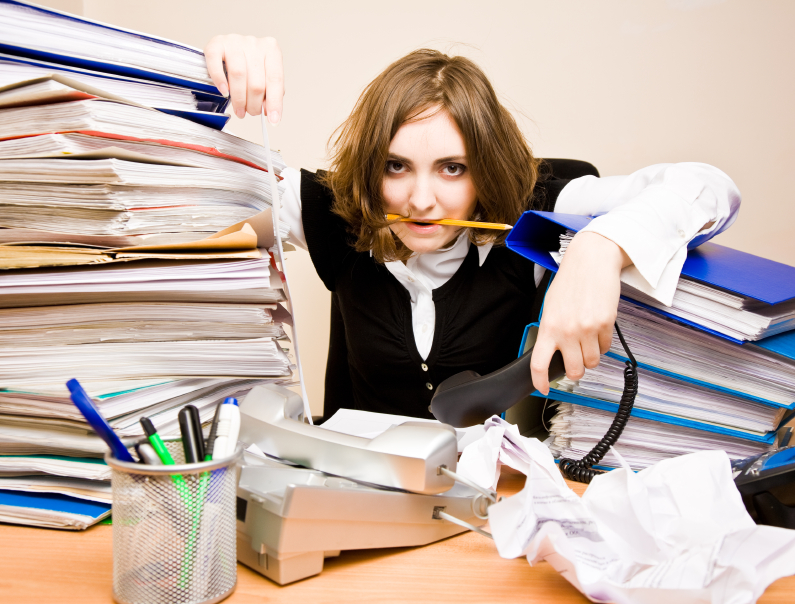 causes of information overload