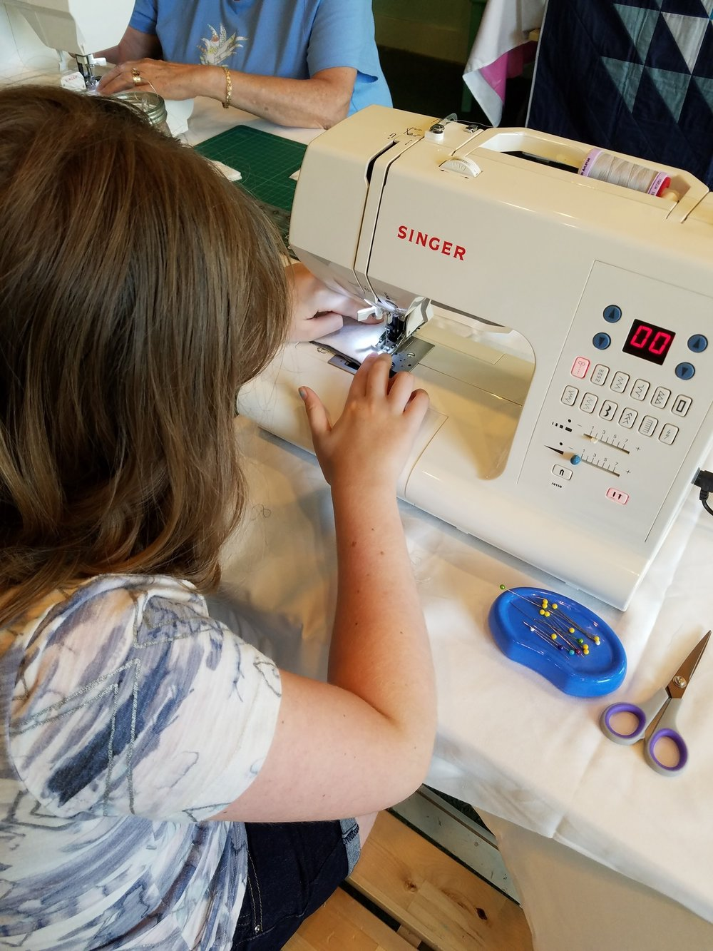 Sewing workshops perfect for any age and any skillset