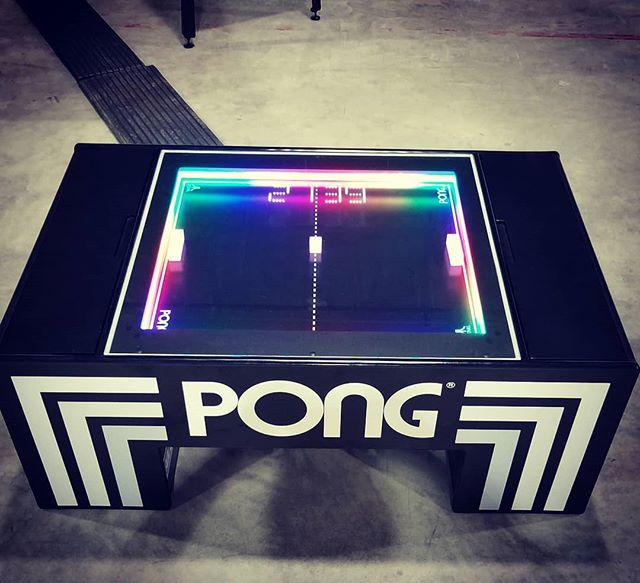 YES!!! Player 1 Amusements will be bringing the new mechanical PONG coffee table to #ottawapinballexpo along with 6-7 of the newest pinball machines on the market.....Fingers crossed for #Deadpool #pinball #ottawa #atari #ottawaevents