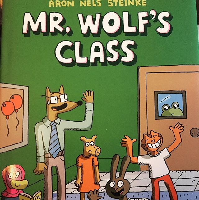 Today's episode is all about the best graphic novels of 2018!  MR. WOLF'S CLASS includes a cute preview of each student the night before school starts  and then the day unfolds with short slice-of-life stories as we get to know each of the students and their teacher. A strength of this book is that the author clearly KNOWS what an actual classroom community is all about – the interactions of personalities. It feels really authentic in that way.  And uh… I can definitely relate to being late to pick my kids because I was distracted by a donut in the break room!