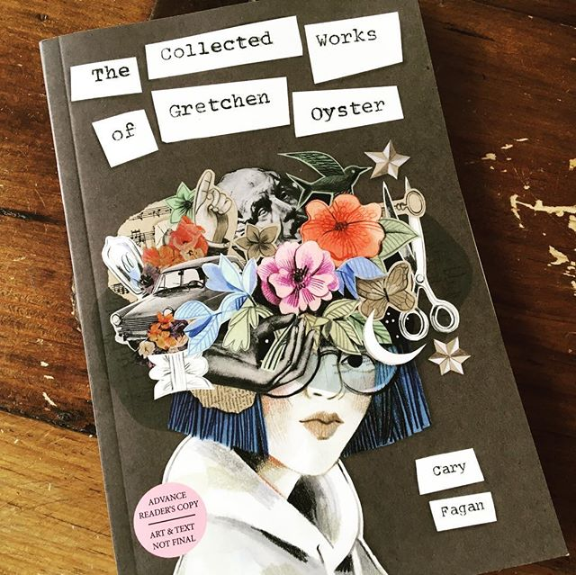 """THE COLLECTED WORKS OF GRETCHEN OYSTER by #CaryFagan  This looks like a great upper #middlegrade option due out this fall (9/17/19) - love this gorgeous cover and fabulous first chapter title: """"The Place Where Books Go To Die""""  Quick preview: """"Hartley Staples, near-graduate of middle school, is grappling with the fact that his older brother has run away from home, when he finds a handmade postcard that fascinates him. And soon he spots another... Who is G.O and why are they scattering cards about the town?"""" @tundrabooks . . #mglit #middlegrade #iLoveMG #middlegradebooks #bookstagram #kidlit #childrensbooks #kidsbooks #childrensliterature #booksforkids #booksbetween"""