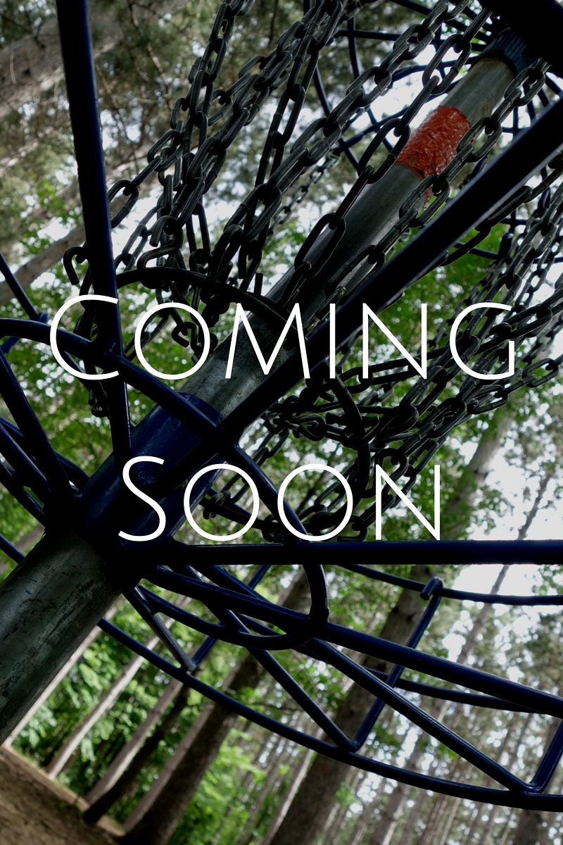 Precision Disc Golf - Coming Soon