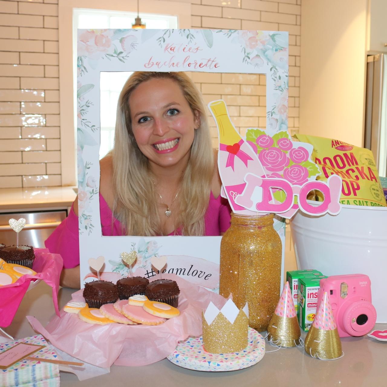 Katies Pink Glitter Y Charleston Bachelorette Kay Co