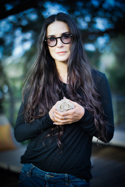 Demi Moore, Born Roswell, New Mexico, Lives LA, Actress, a human being, not a human doing. , %22Peace to me means Freedom, love, acceptance%22- Peace in 10000 Hands.jpg