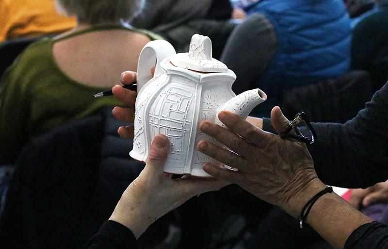 Katrina Chaytor's Teapot, 2017 Symposium