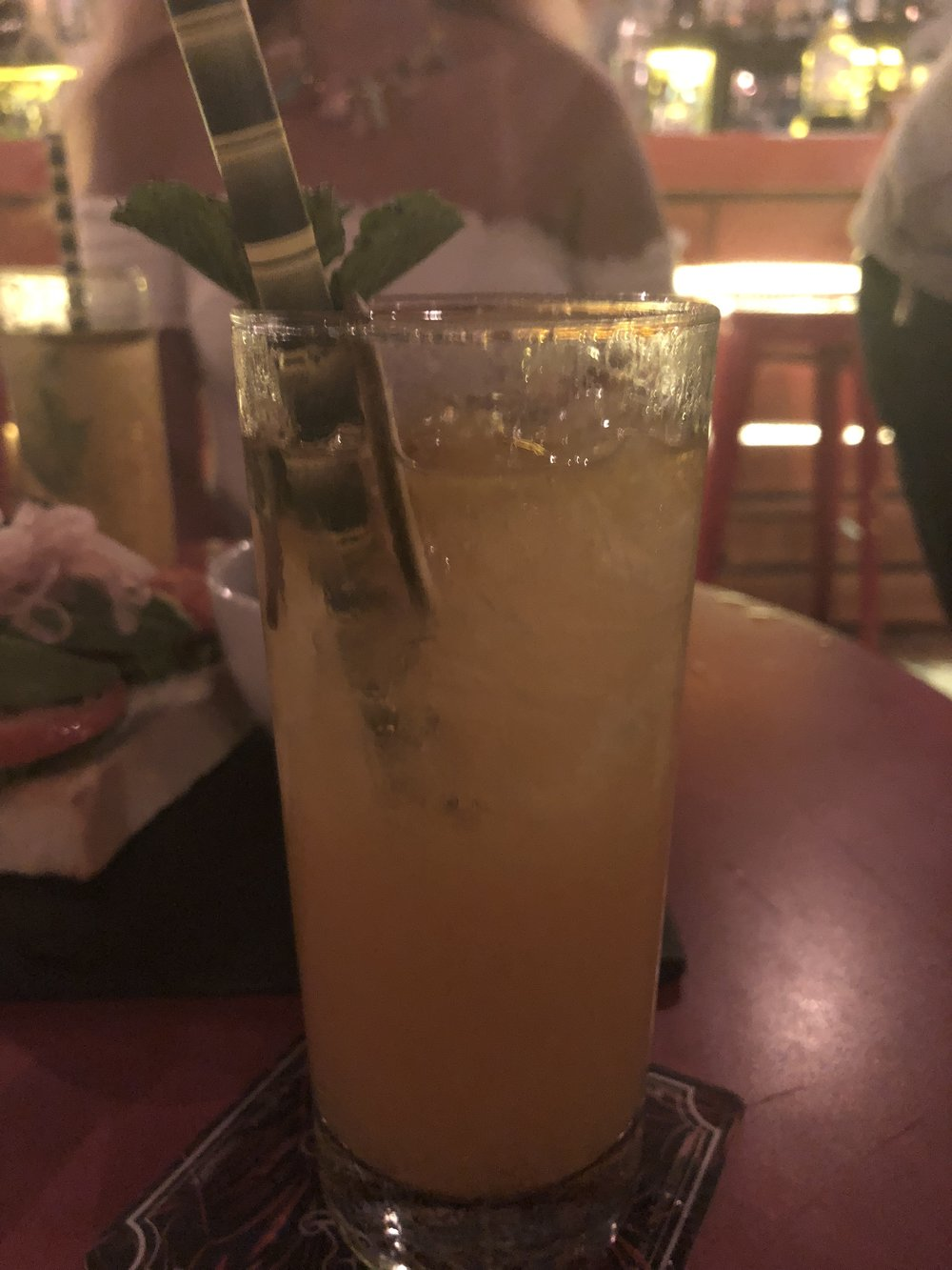 This, my friends is a strong ass Mai Tai. Cheers.