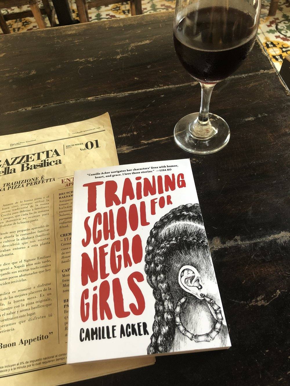 Training School for Negro Girls by Camille Acker was my other vacation read. Loved this one.