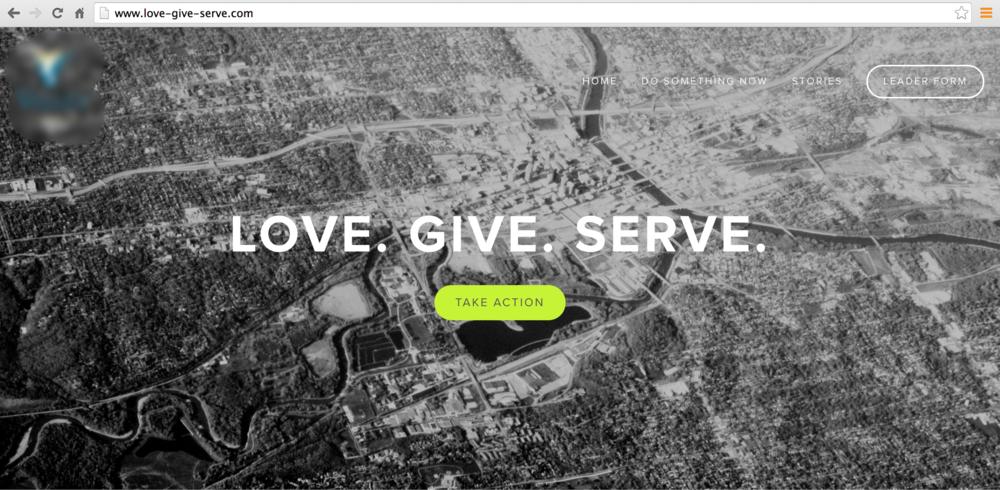 CHURCH GENEROSITY CAMPAIGN WEBSITE