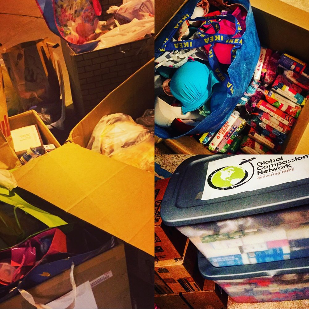 OVER 6,000 ITEMS WERE DONATED TO HELP ORPHAN GIRLS IN HAITI