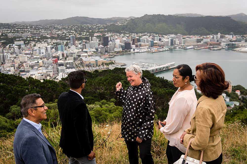 Rose takes guests to Wellingtons iconic Mount Victoria Lookout.jpg