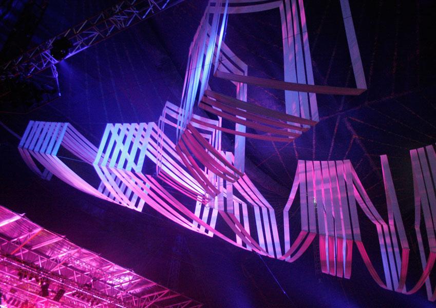 Lyssætning under koncert