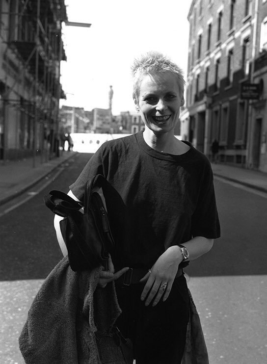 Vivienne Westwood, London, 1977. (credit: Peter Cade)