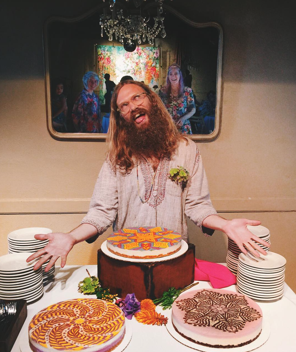 Cheesecake Taken to New Psychedelic Heights - Stephen McCarty