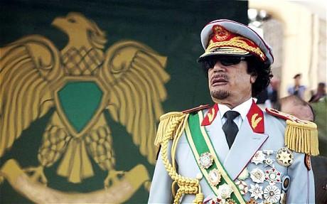 Former Libyan leader, Col Muammar Gaddafi (credit: Reuters)