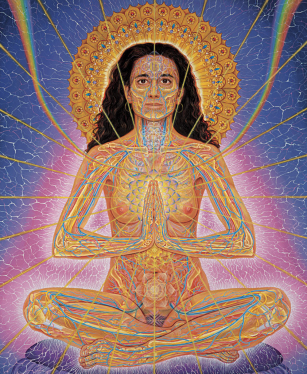 Namaste (credit: Alex Grey)