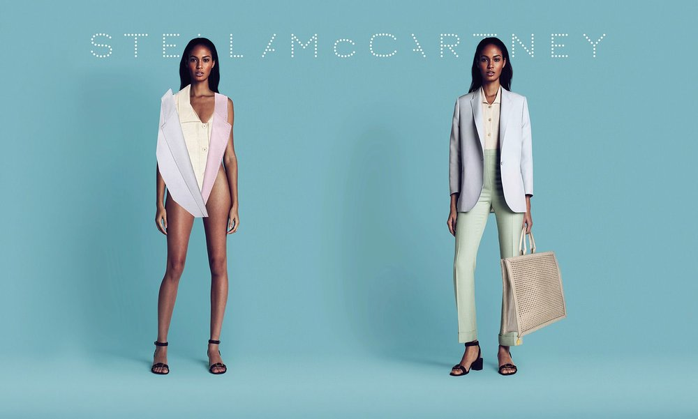 Joan Smalls for Stella McCartney. Spring 2011 campaign. (credit:   Maert & Marcus)