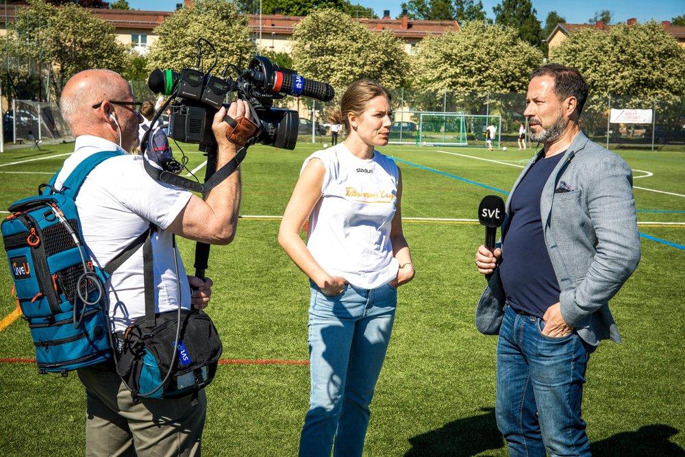 SVT är på plats och rapporterar från nationaldagen 2017