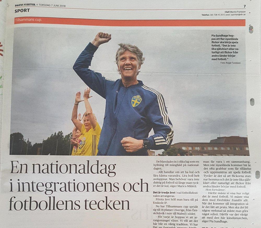 DN är på plats i Stockholm och rapporter den 6e juni 2018