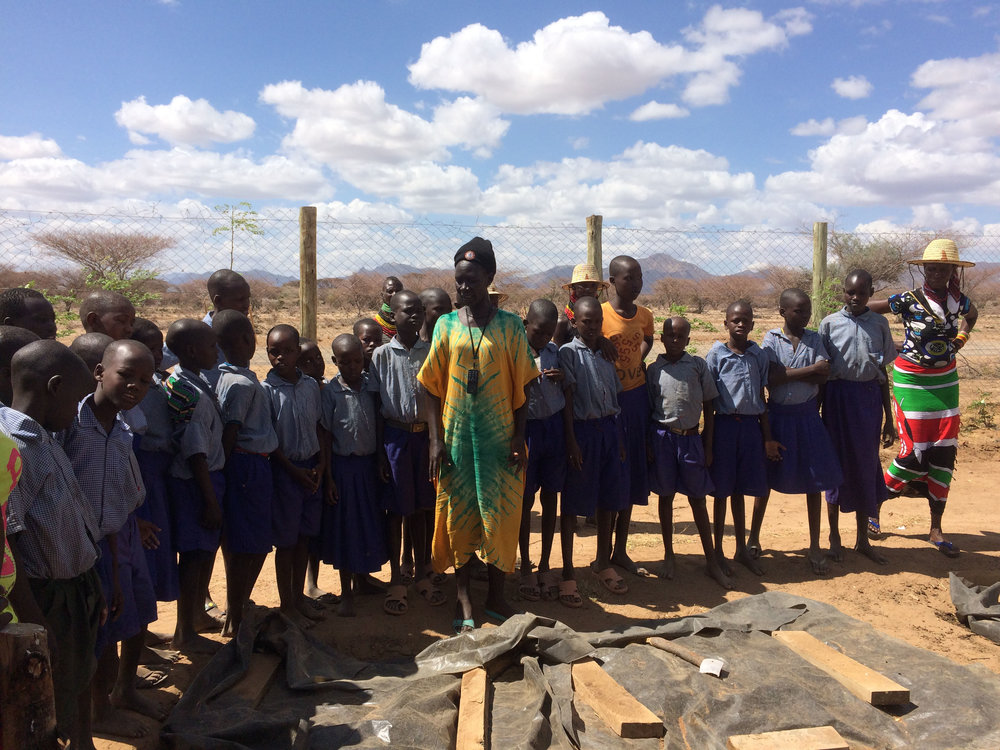 Educating school children about Permaculture | Turkana