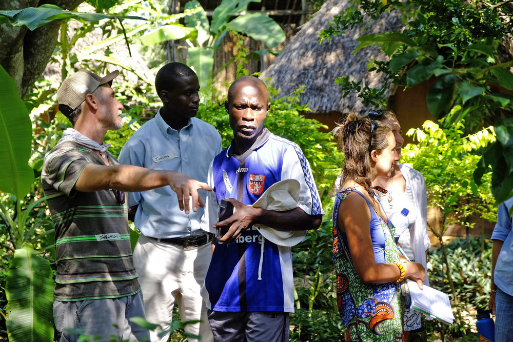 Jeremiah Kidd and Maurice Otieno | Permaculture Design Course | Photo credits: Karin Duthie