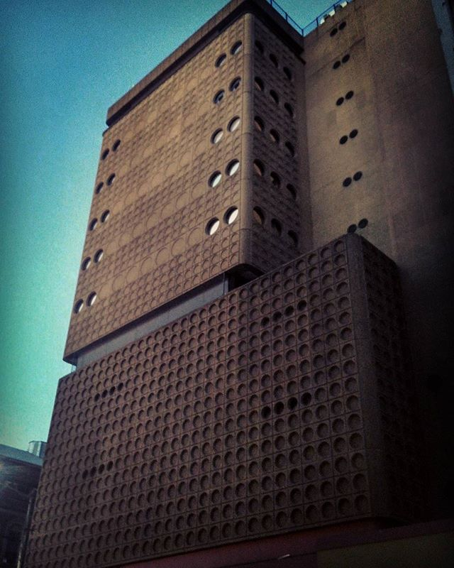 Damn good downtown brutalism. #Joburg #the13thfloor #architecture #southafrica