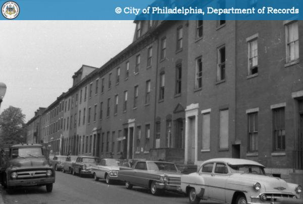 1600 Block of Wallace Street, 1963 (https://www.phillyhistory.org)