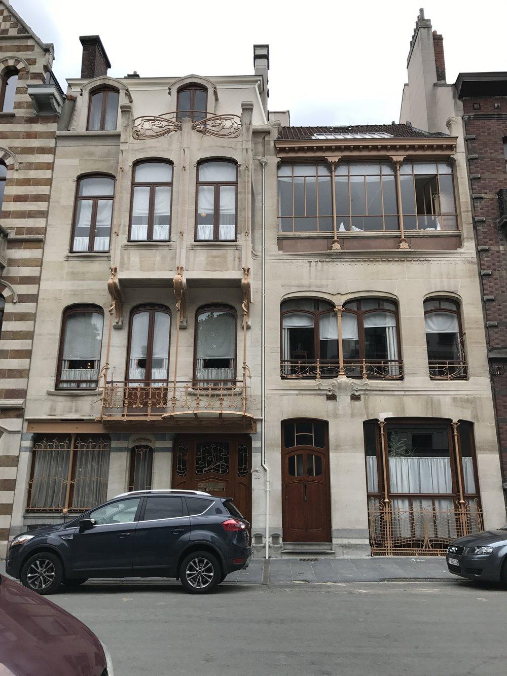 Art Nouveau architecture of Brussels