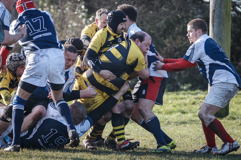 Warriors v Bumbles, Burry Port