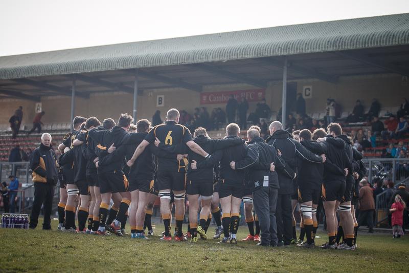 Cornwall Pre-match Huddle