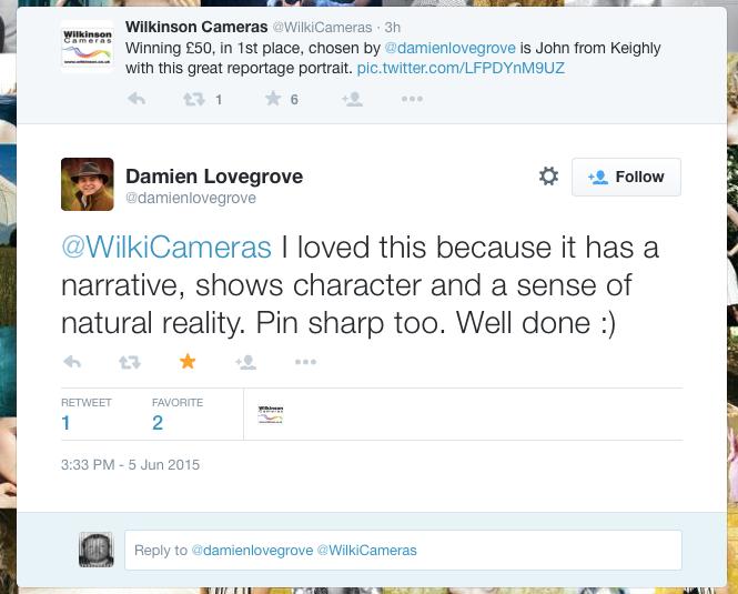 Damien Lovegrove on Twitter