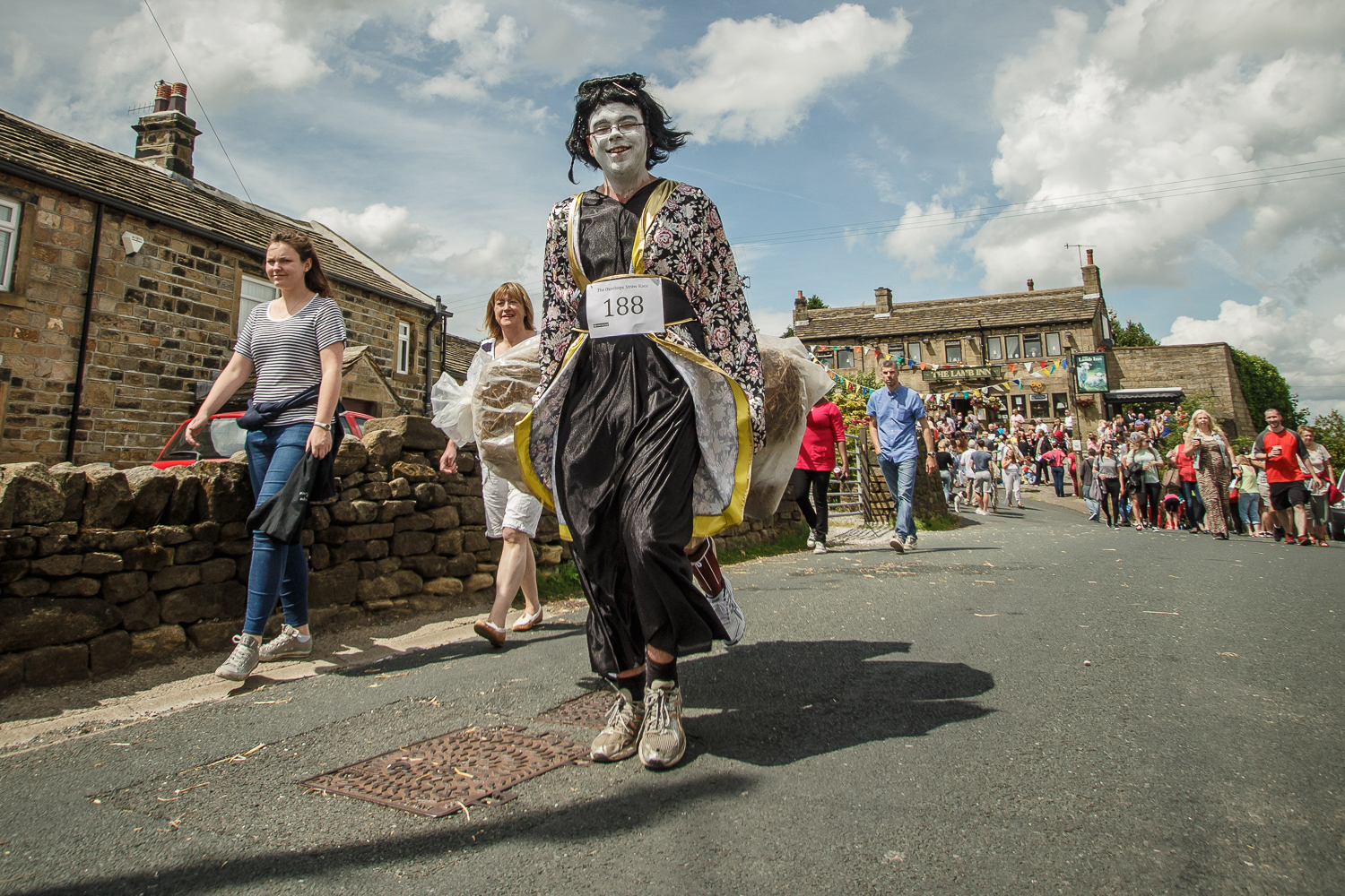 Oxenhope Straw Race 2015