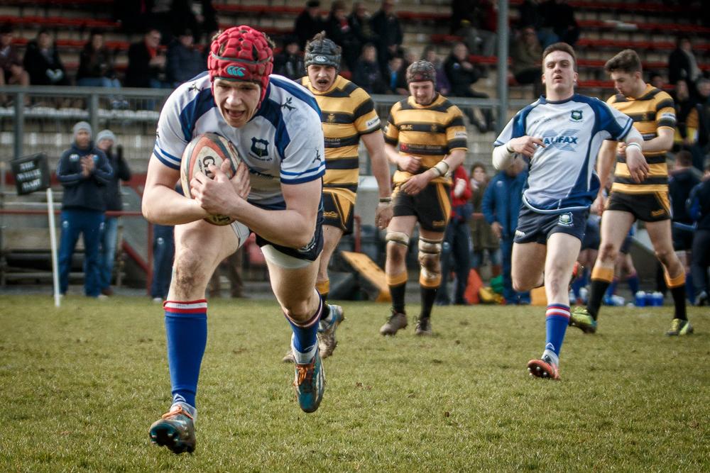 Robbie Davidson, Cornwall 3 Yorkshire U20 63