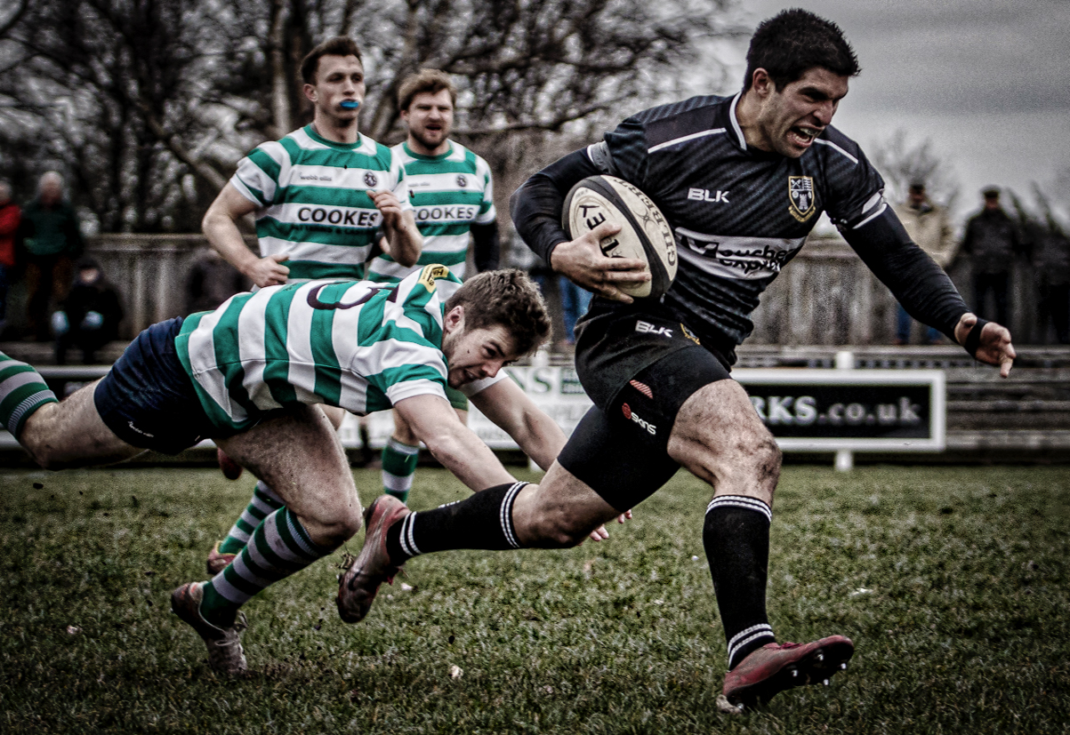 James Wood - try scorer