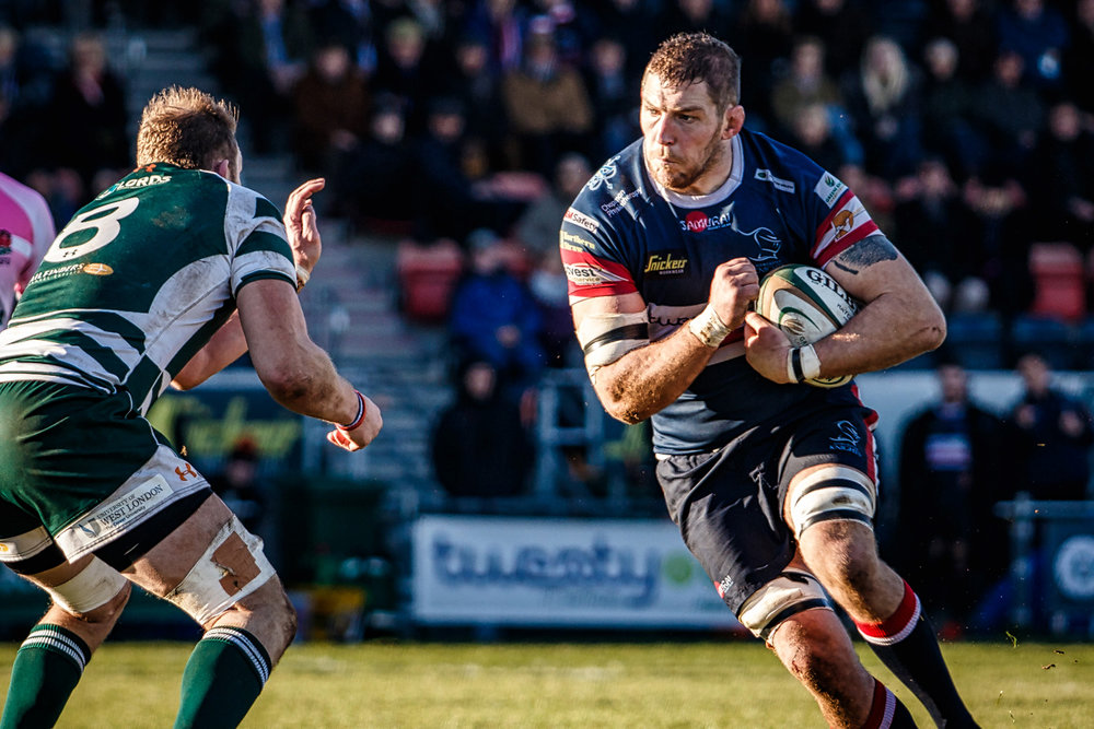 Matt Challinor Prepares For A Clash With Trailfinders' Number 8