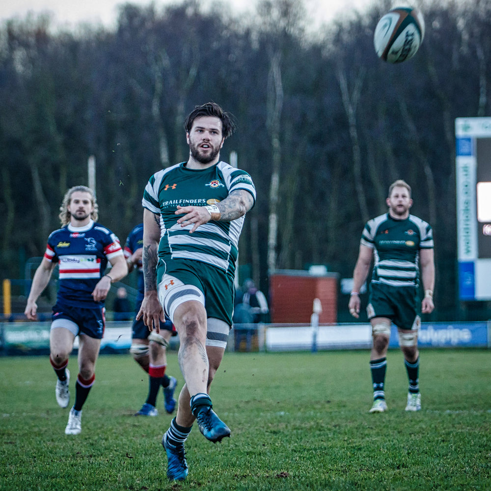 Ealing's Aaron Penberthy Gratefully Kicks To End The Game