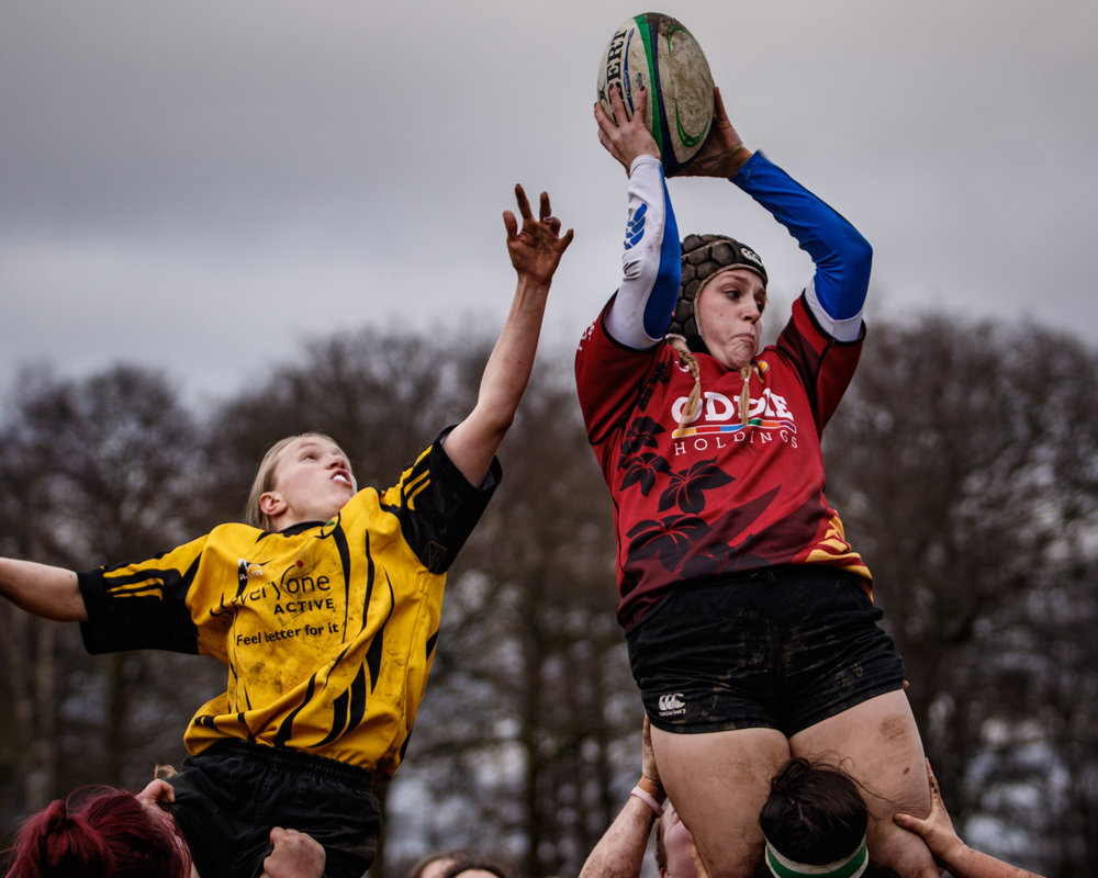 Lineout, Harrogate Ladies