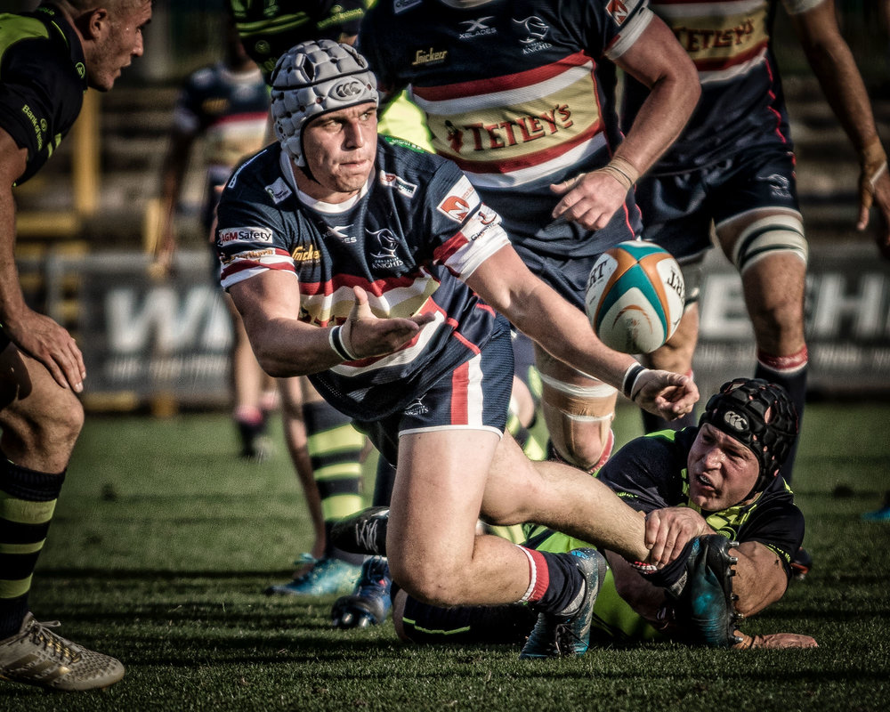 Pass into the sun - Charlie Foy, Doncaster Knights