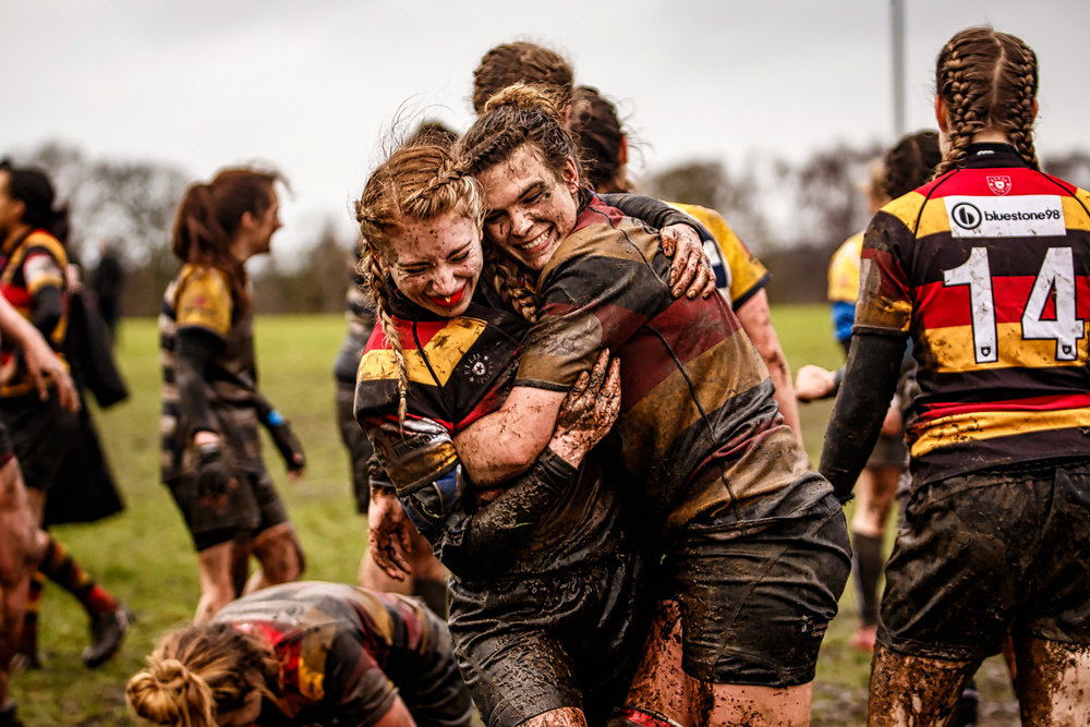 Post Match Mud Covered Happiness