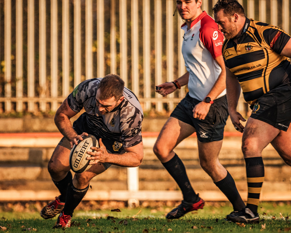 Joe Graham - Otley's opening try