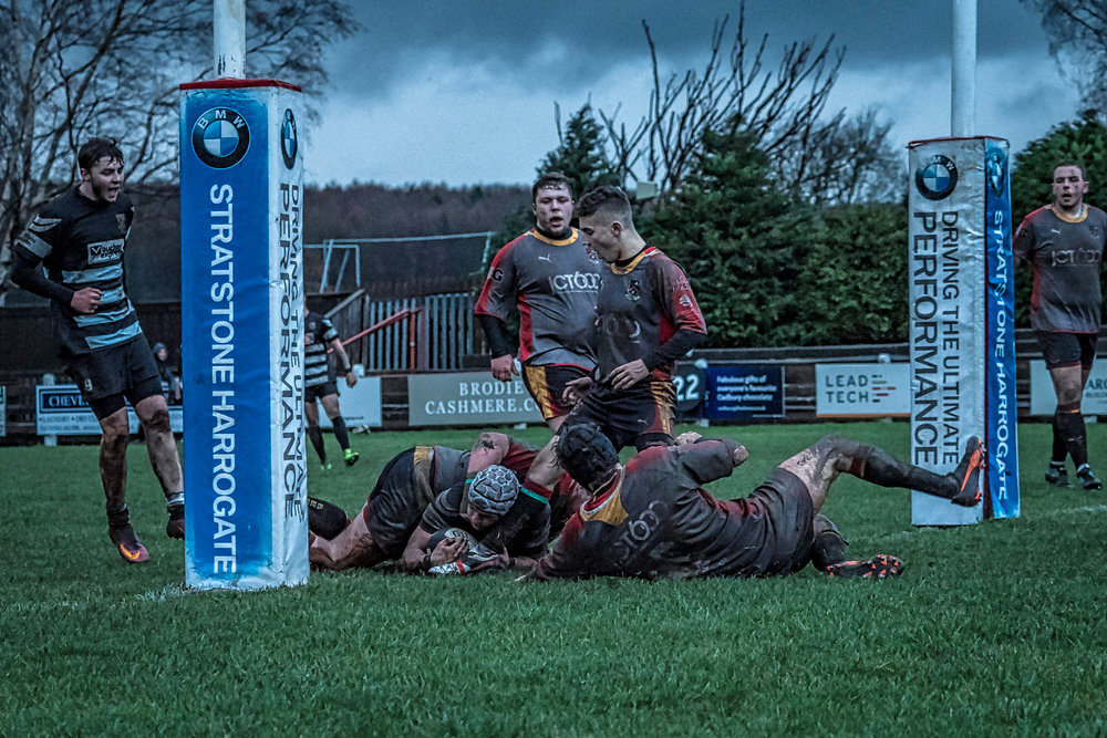 Second half try for Otley