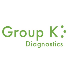 Group K Diagnostics: Low-cost, rapid, paper-based diagnostic system, providing multiple results from one patient sample within 30 minutes or less at the point of care. The modular system can currently combine up to 3 different tests and can be read via a smartphone app, desktop app, or comparison paper guide, allowing the test to be conducted in any setting.