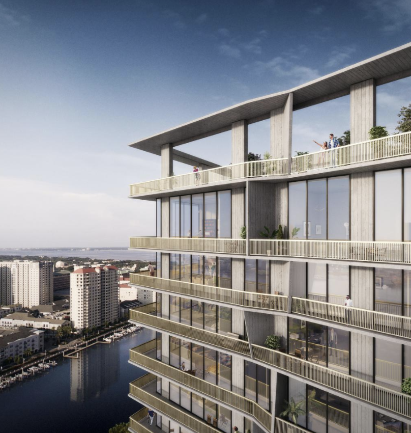 Spp Announces First Water Street Tampa Residential