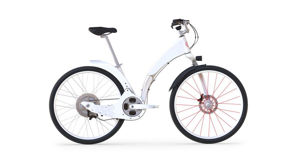 The Gi Fly Electric Folding Bike